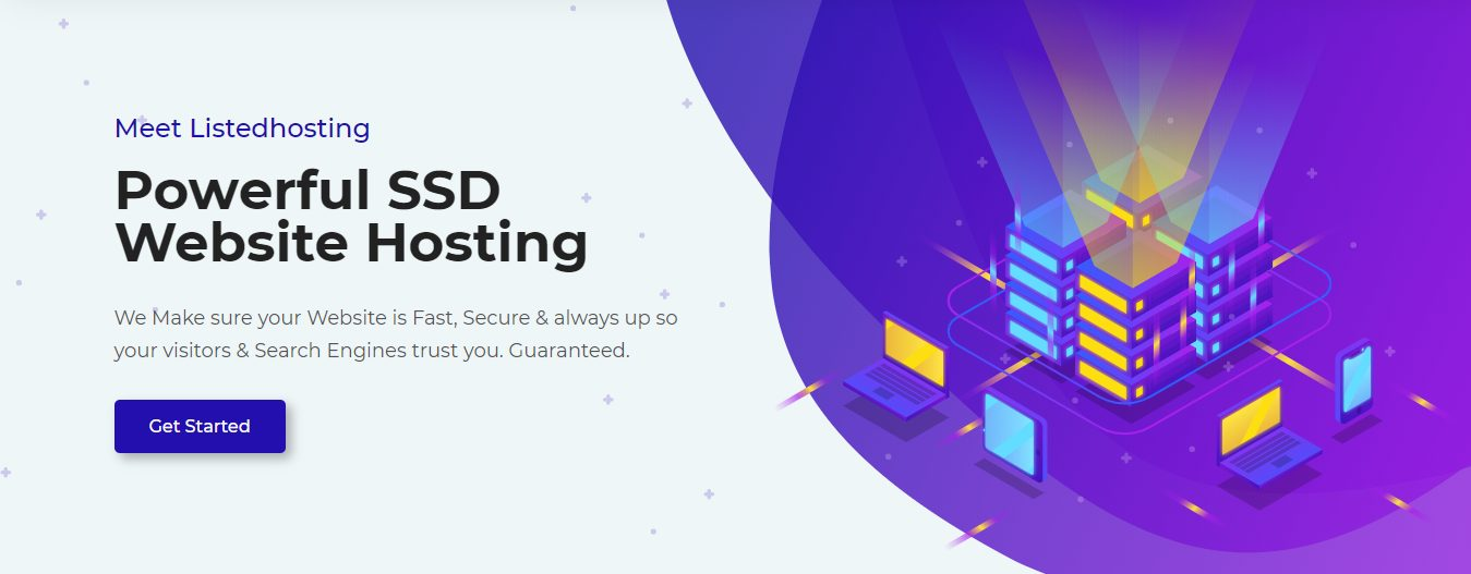 Listed Hosting Best hosting company in Nigeria banner